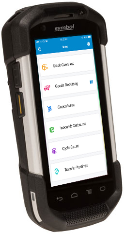 RF / Barcode Scanning Devices Supported by mInventory - Mobile